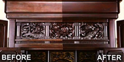 商品・仏壇修理 クリーニング